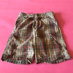 Oshkosh Boy's Plaid Shorts Size 6